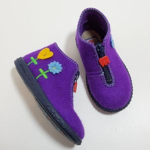 Little Girl's Elefanten Shoes/Booties